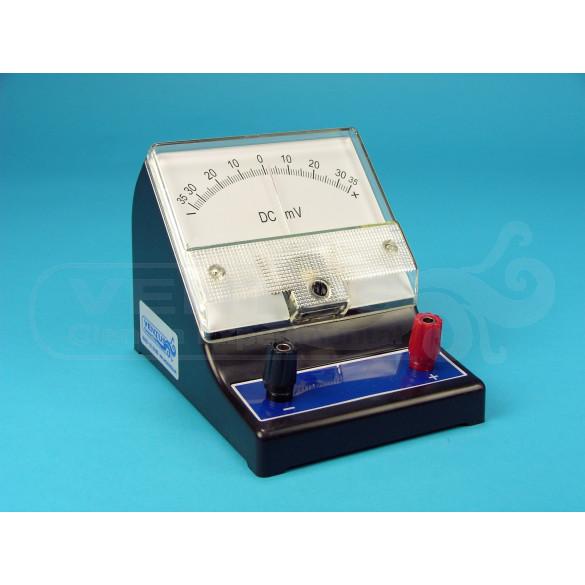 Galvanómetro milivoltímetro