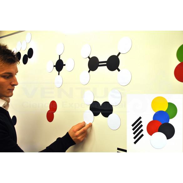 Modelo molecular profesor para pizarra