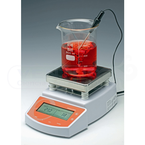 Agitador magnético con calefacción, 2l