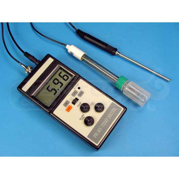 pH-metro/mV/ºC portátil