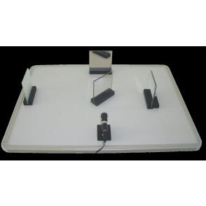Óptica ondulatoria sobre mesa