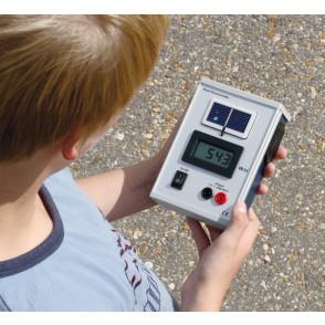 Medidor de irradiación solar