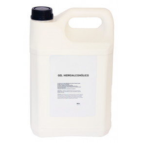 Gel hidroalcohólico, 5 litros
