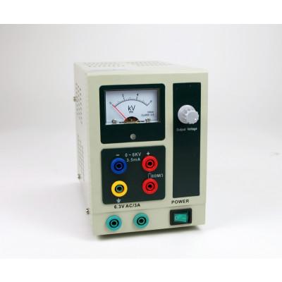 Fuente alimentación 0-6000 V