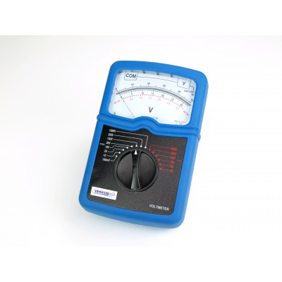 Voltímetro analógico serie Blue