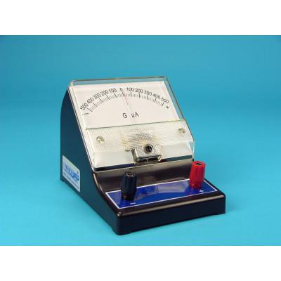 Galvanómetro microamperímetro