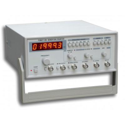 Generador de funciones y frecuencímetro