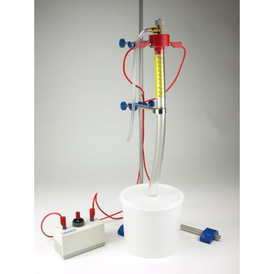 Eudiómetro con dispositivo de encendido