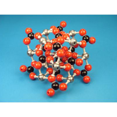 Red cristalina de Calcita (carbonato cálcico)