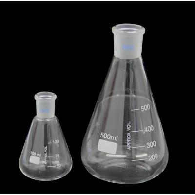 Matraz Erlenmeyer esmerilado 29/32, 500 ml
