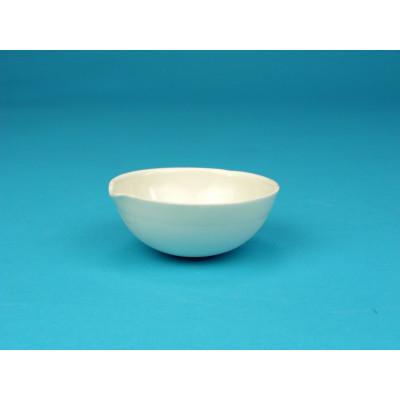 Cápsula porcelana fondo redondo, 60 mm Ø