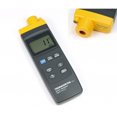 Termómetro digital por infrarrojos