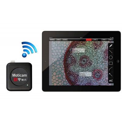 Cámara digital MOTICAM X (Wi-Fi)