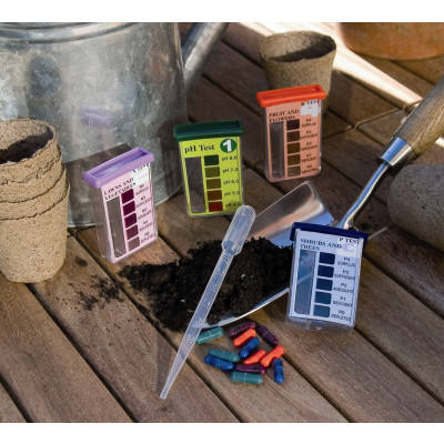Kit para análisis de suelos