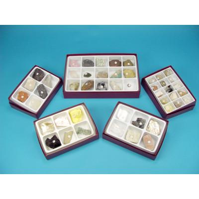 Colección 48 minerales