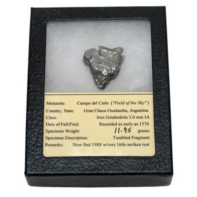 Fragmento real de meteorito