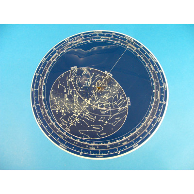 Planisferio celeste circular