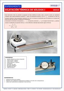 10315 Dilatacion termica de solidos I