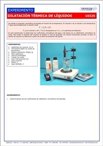 10325 Dilatacion termica de liquidos