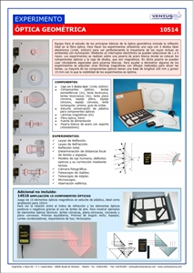 10514 Optica geometrica sobre panel