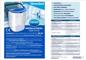 36328 Pantalla facial proteccion reutilizable PA19