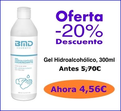 Gel hidroalcohólico oferta
